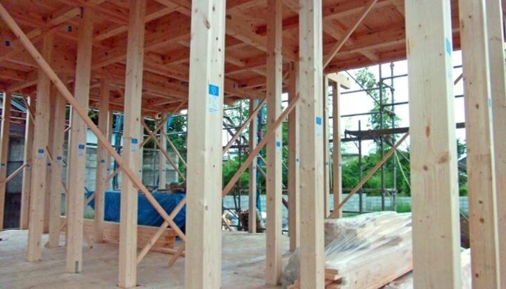 現場に行こう!木造軸組工法での木工事の工程と流れ
