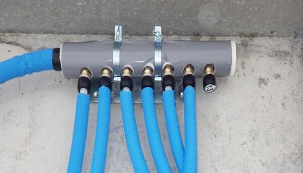 近年の戸建住宅での採用が増えている給水・給湯ヘッダー方式