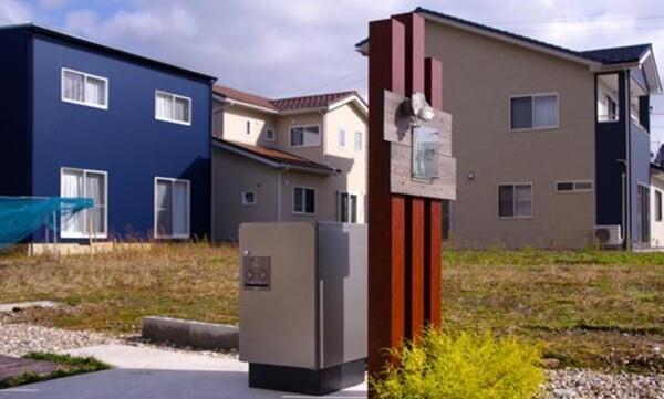 パナソニックによる福井県あわら市での宅配ボックス実証実験