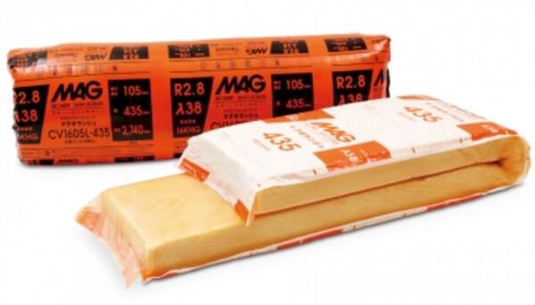 住宅で採用される繊維系断熱材の代表格グラスウール