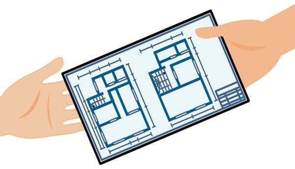 大手のハウスメーカーほど電気配線打ち合わせは電気図面だけのケースが多い