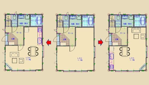 家具を配置して間取りの広さや使い勝手を確認しておく