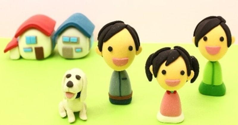 自分達にピッタリな住宅の種類を見つけた家族